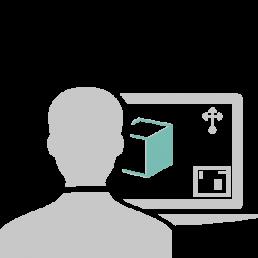 ICONO VISUALIZACIÓN 3D