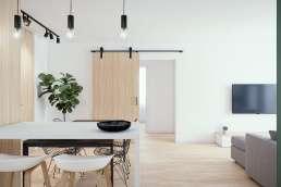 Vivienda para alquiler en Sevilla - Interiorismo y Visualización 3D